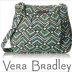 NEW VERA BRADLEY NWT Pretty Hadley Lg Crossbody